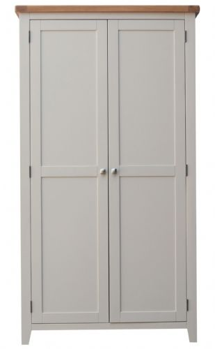 Malvern Grey Double Wardrobe